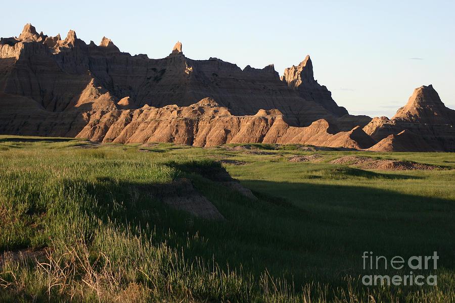 Landscapes Photograph - Badlands Morning by Balanced Art
