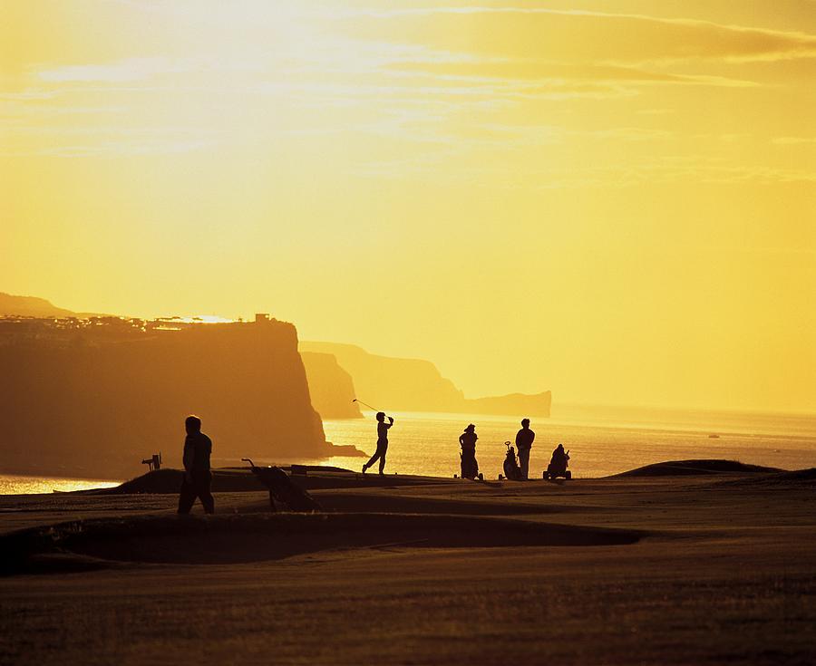 Antrim Coast Photograph - Ballycastle Golf Club, Co Antrim by The Irish Image Collection
