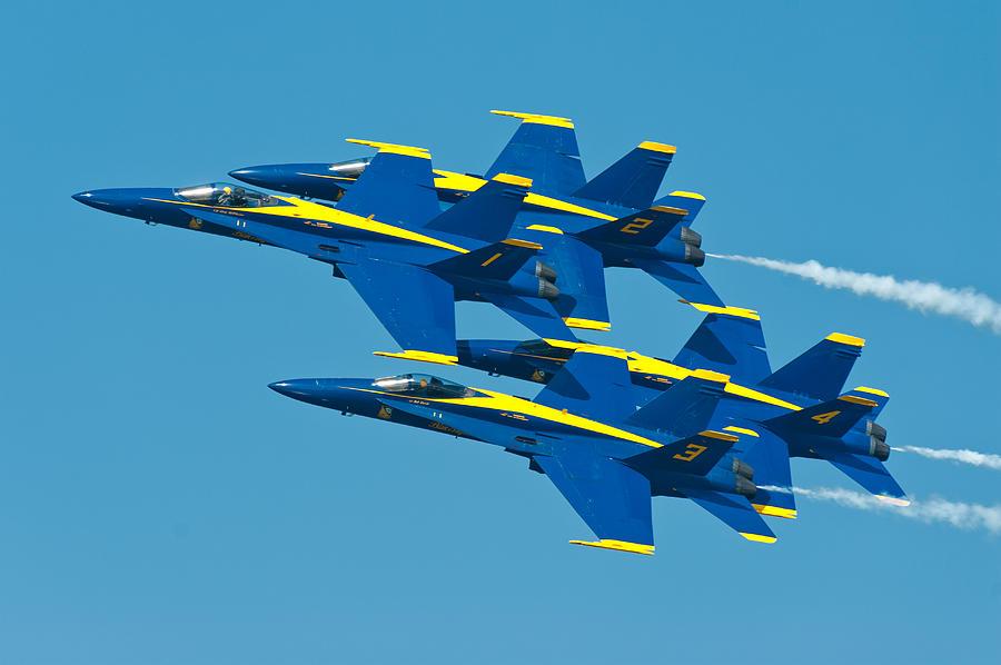 Blue Angels Photograph