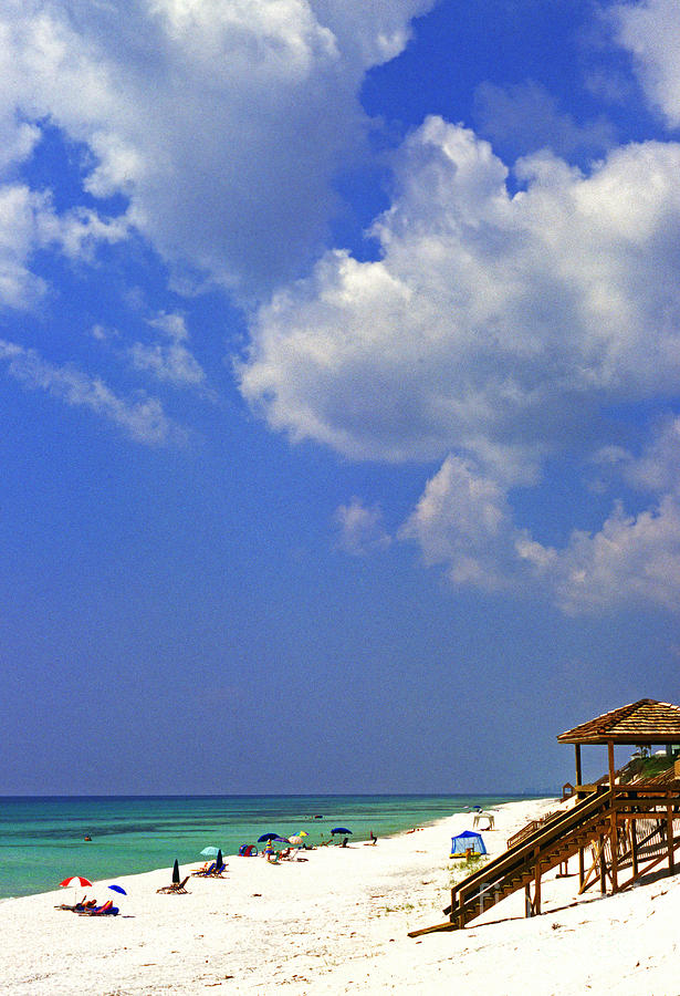 Blue Mountain Beach Photograph