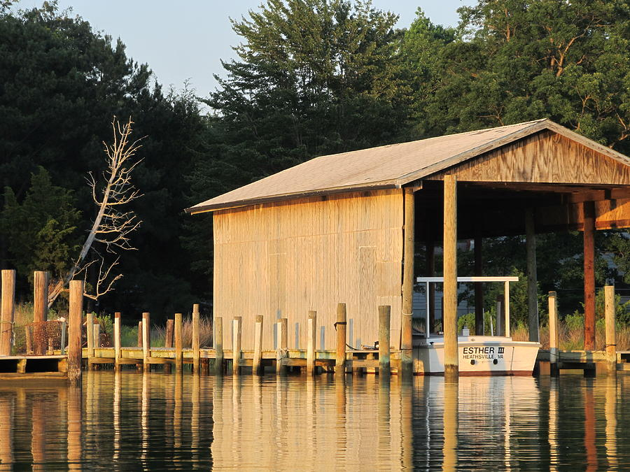 Boathouse Photograph