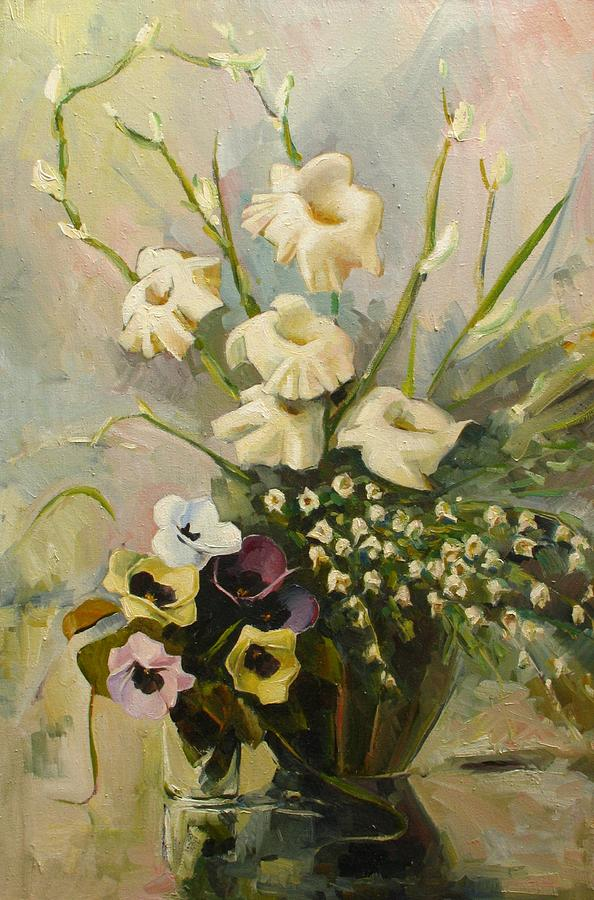 Armenian Painting - Bouquet by Tigran Ghulyan