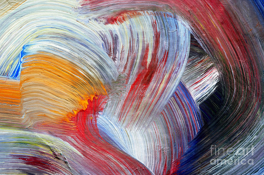 Brush Strokes Painting By Michal Boubin