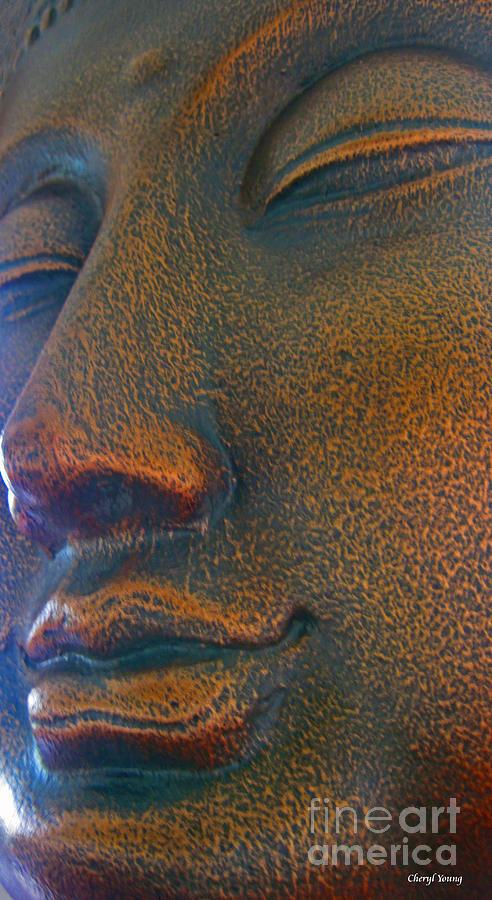 Buddha Photograph - Buddha  by Cheryl Young