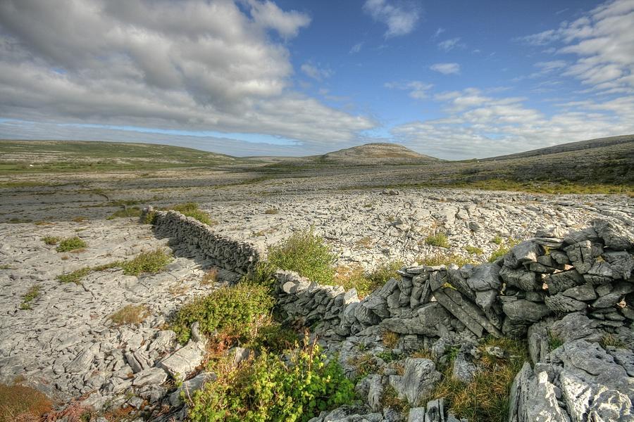 Barren Limestone Photograph - Burren National Park by John Quinn