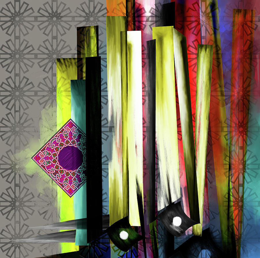 Calligraphy 27 10 1 is a painting by Mawra Tahreem which was uploaded ...