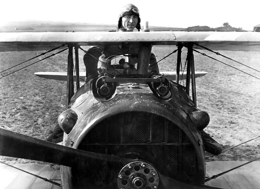 Eddie Rickenbacker Photograph - Captain Eddie Rickenbacker  by War Is Hell Store