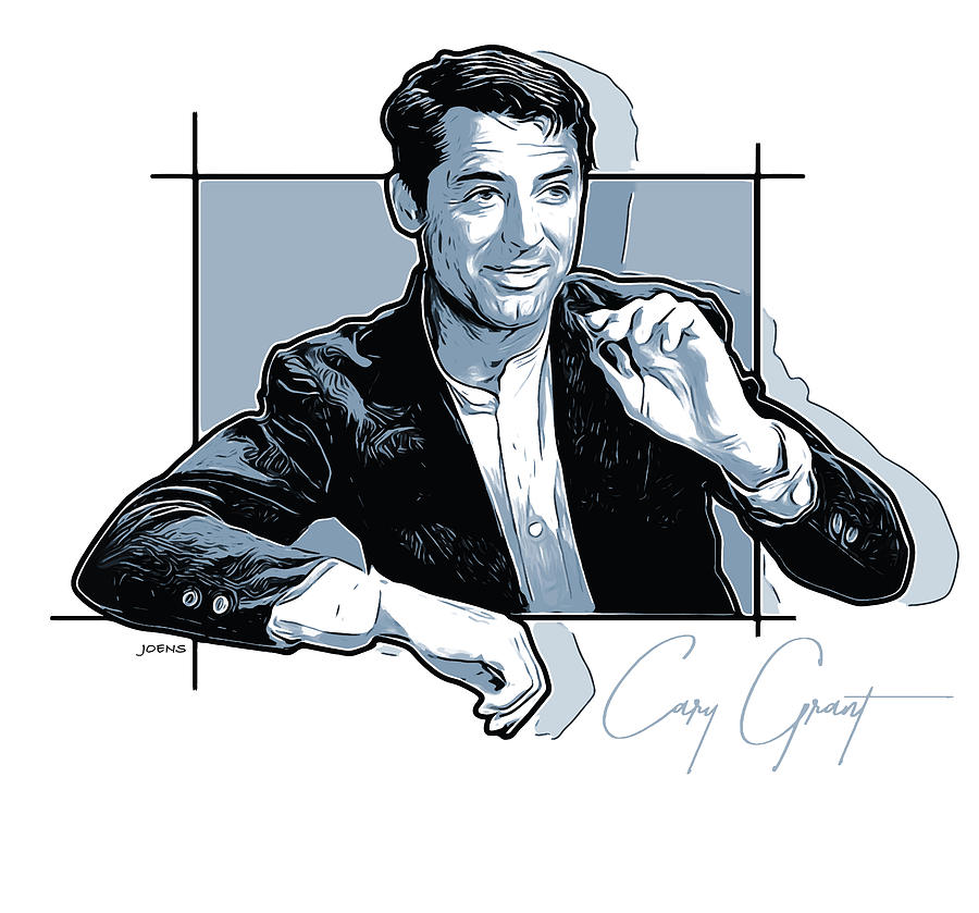 Cary Grant Digital Art