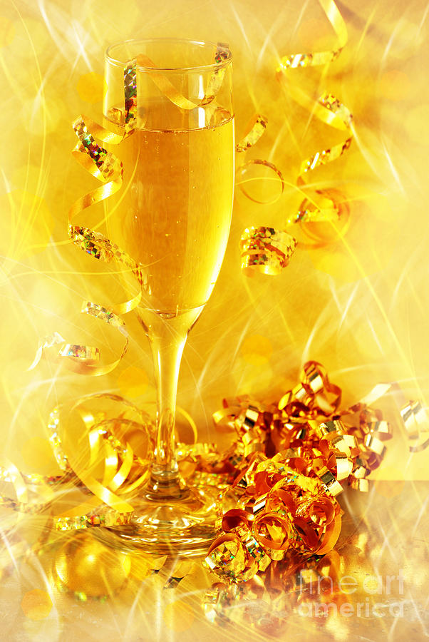 Alcohol Photograph - Celebration by HD Connelly
