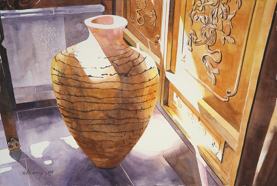 Celestial Hall Pottery II Painting