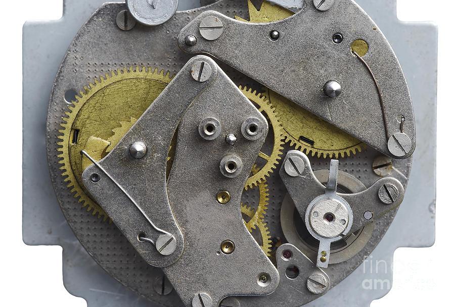 Clockwork Photograph - Clockwork Mechanism by Michal Boubin