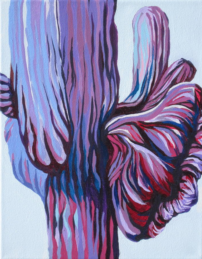 Southwest Painting - Color Me Purple by Sandy Tracey