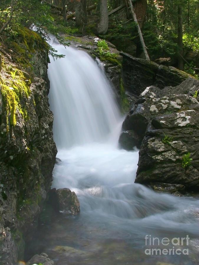 Crystal Cascade Photograph