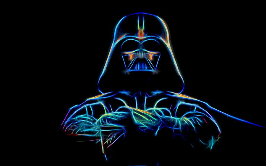 Darth Vader Digital Art - Darth Vader by Aaron Berg