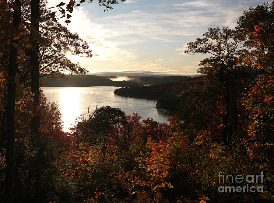 Autumn Photograph - Dawn At Algonquin Park Canada by Oleksiy Maksymenko