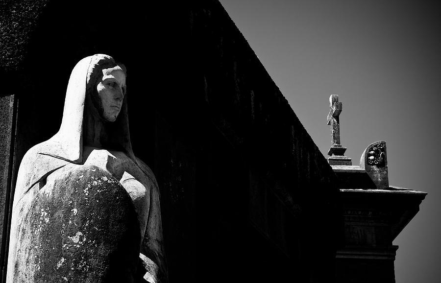 Cross Photograph - Defensor Fidei by Luigi Montebello
