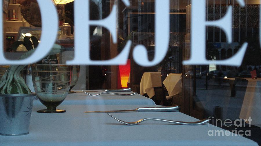 Dejeuner Photograph - Deje by Contemporary Luxury Fine Art