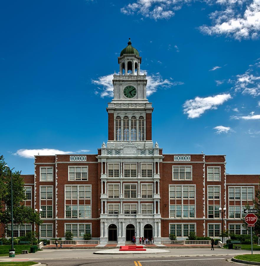 Denver's East High School Photograph By Mountain Dreams