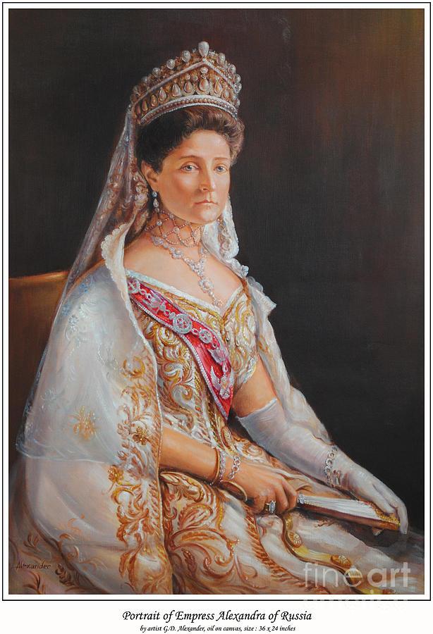 Of Alexandra Aleksandrina Russian Bulgarian - She