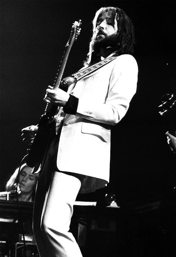 Eric Clapton Photograph - Eric Clapton 1973 by Chris Walter