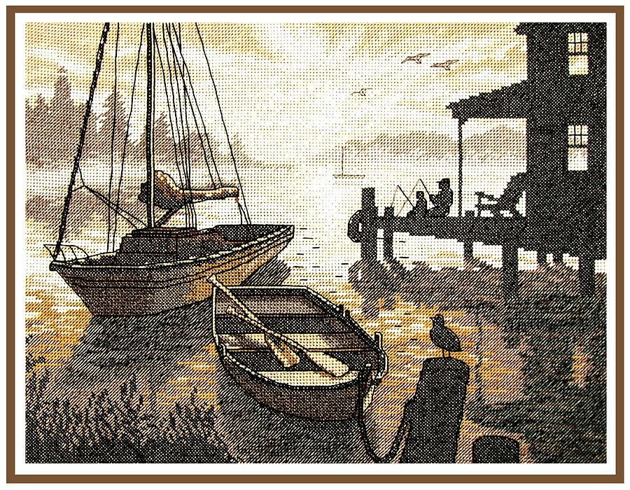 Секс в рыбацкой лодке 1 фотография