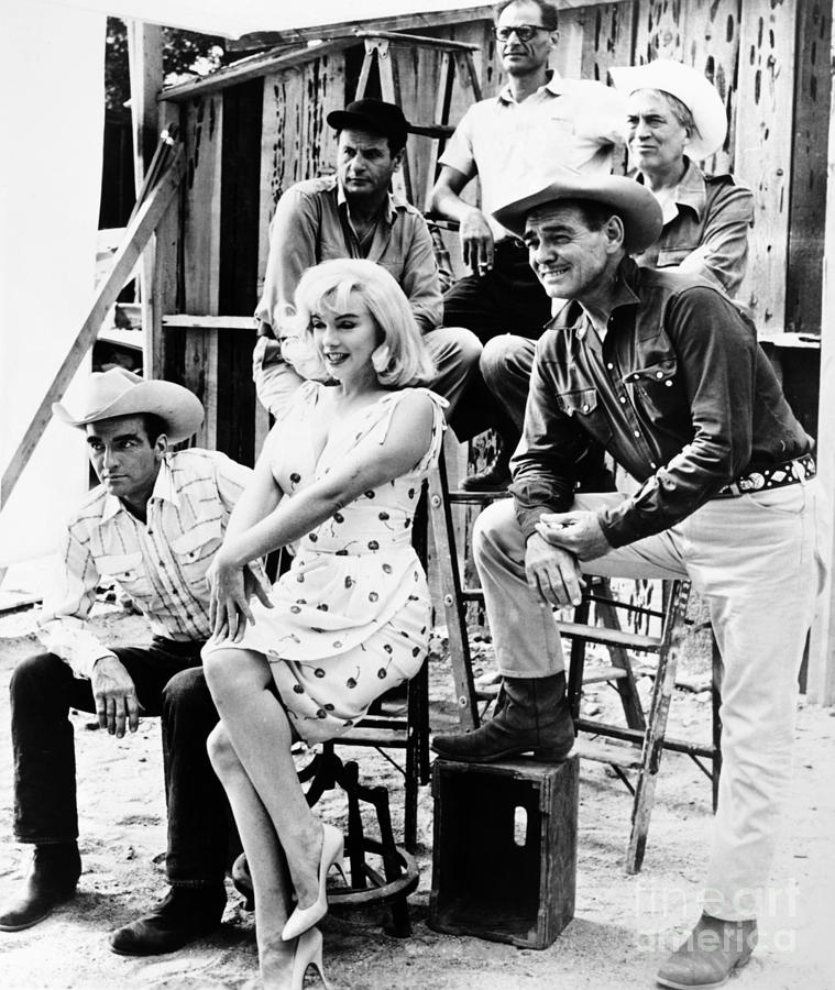 1961 Photograph - Film: The Misfits, 1961 by Granger
