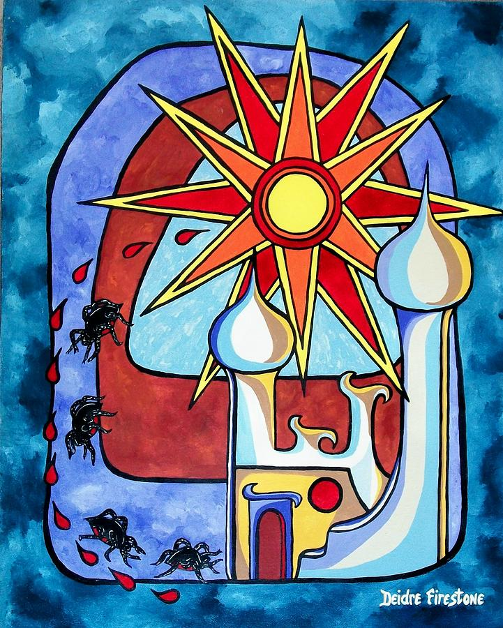 Gods Sunlight Painting - Final Reign Of Power by Deidre Firestone