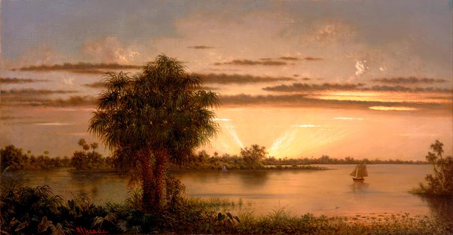 Florida Sunrise Painting