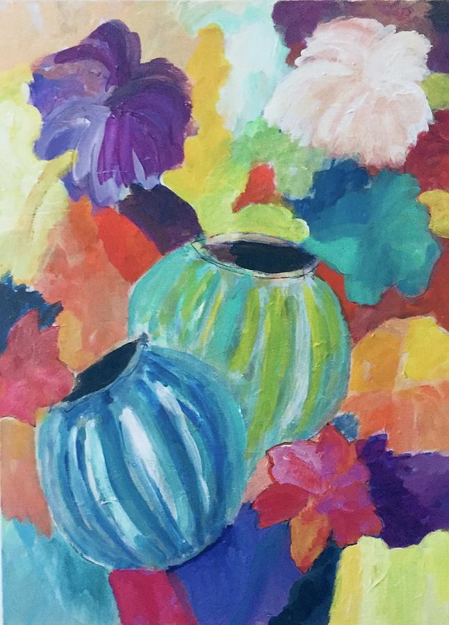 Flowers Everywhere Painting
