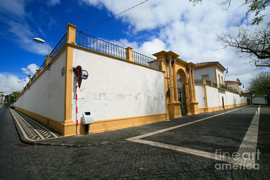 Fonte Bela Palace - Azores Photograph