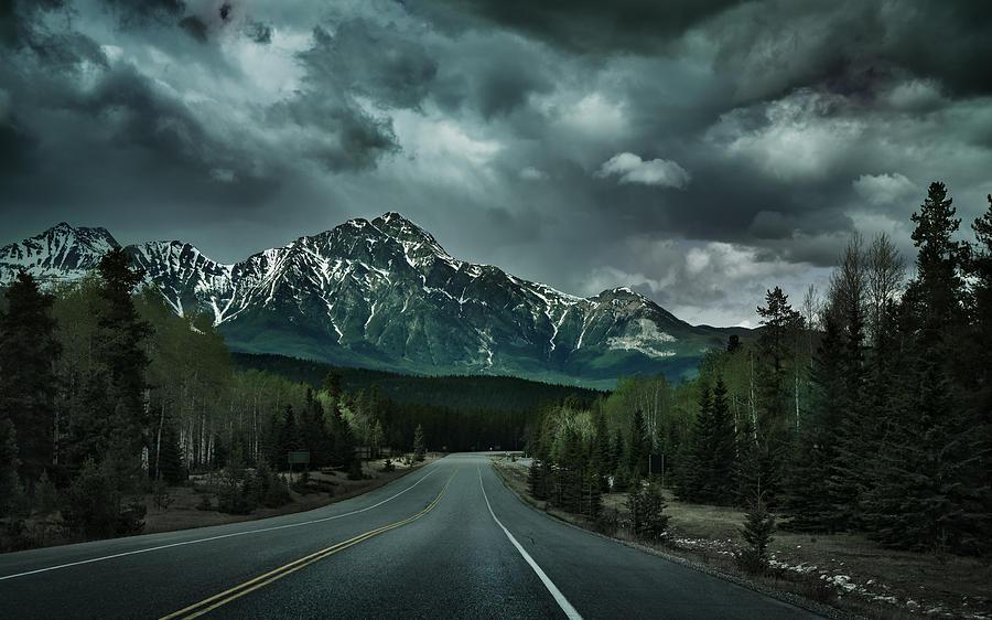 Forbidden Road Photograph