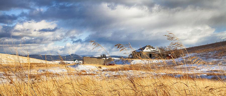 Theresa Tahara Photograph - Forgotten Farmhouse by Theresa Tahara
