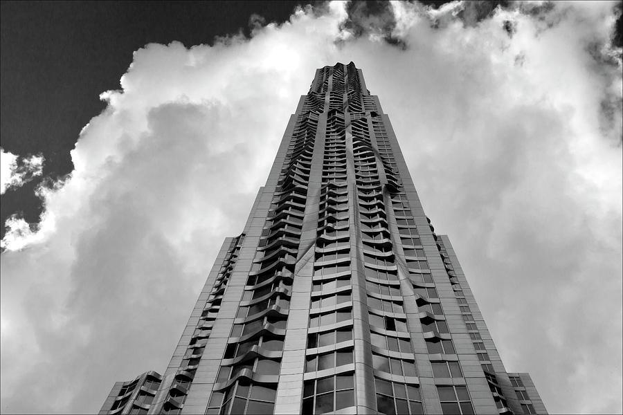 Frank Gehry High Rise Lower Manhattan Photograph - Frank Gehry High Rise Lower Manhattan by Robert Ullmann