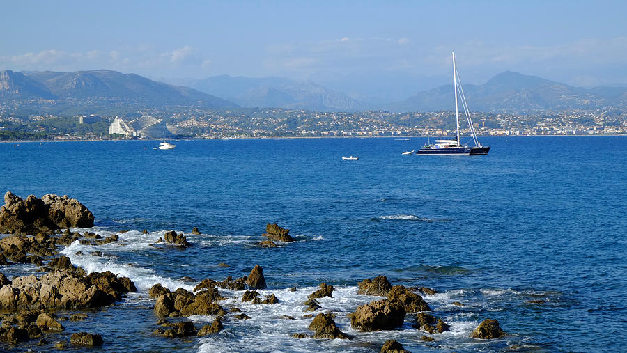 French Riviera Photograph