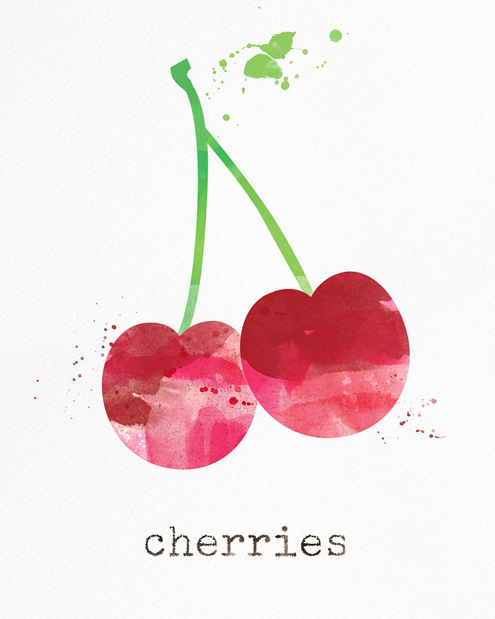 Fresh Cherries Painting
