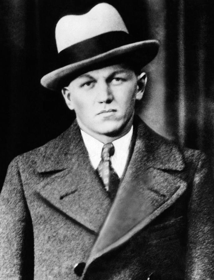 George Baby Face Nelson, Public Enemy Photograph