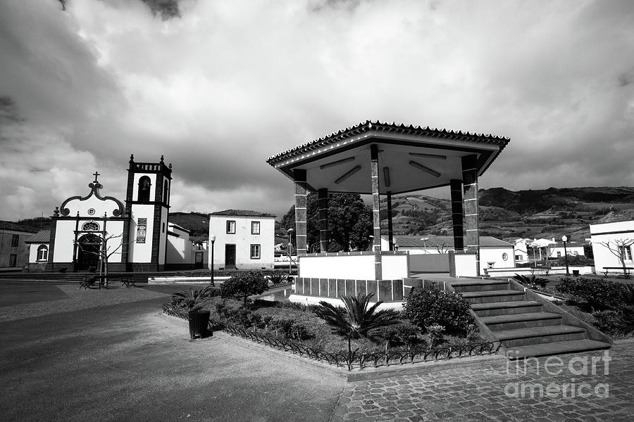 Village Photograph - Ginetes - Azores Islands by Gaspar Avila