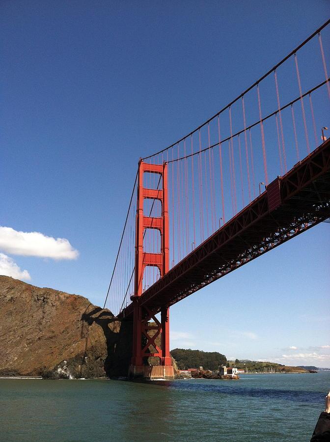Golden Gate Bridge Photograph - Golden Gate Bridge by Eliot Jenkins