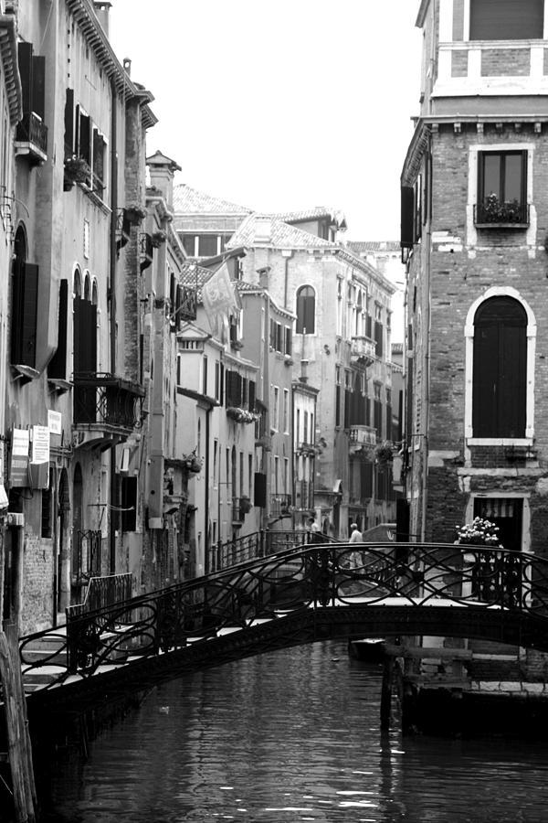 Venice Photograph - Gondola Ride In Venice by Greg Sharpe