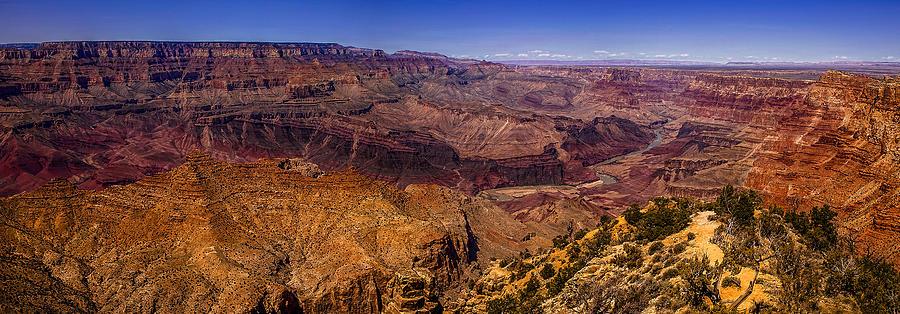 Grand Canyon Photograph - Grand Canyon Panorama by Andrew Soundarajan