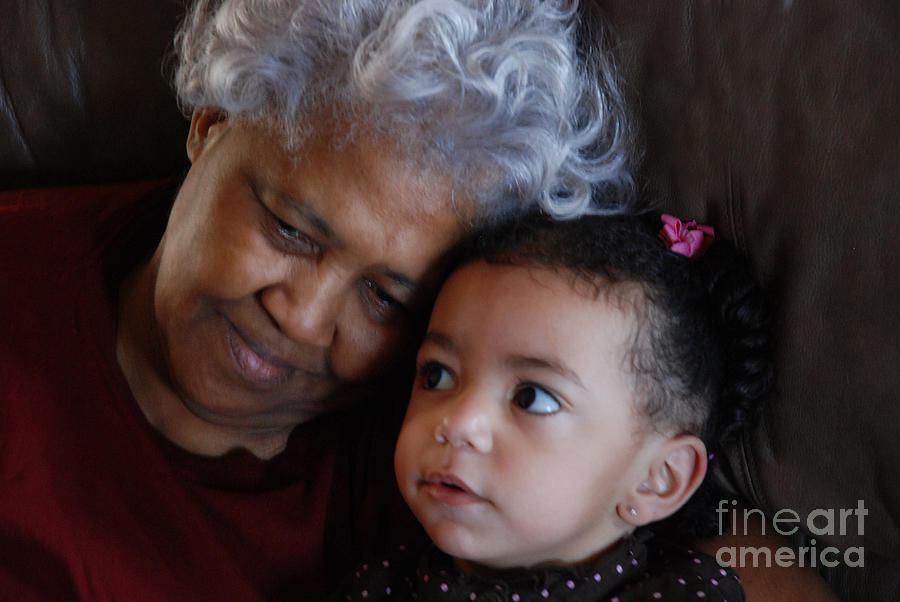 Grandma Photograph - Grandma by Jim Wright
