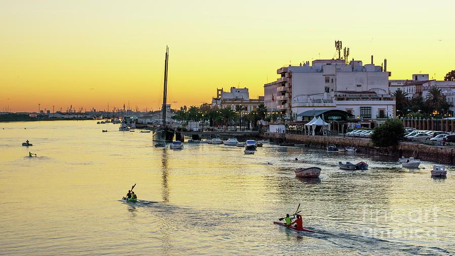 Guadalete River Puerto De Santa Maria Cadiz Spain Photograph