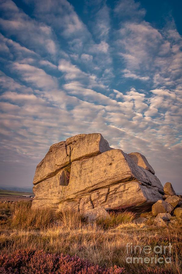 Hitching Stone Photograph