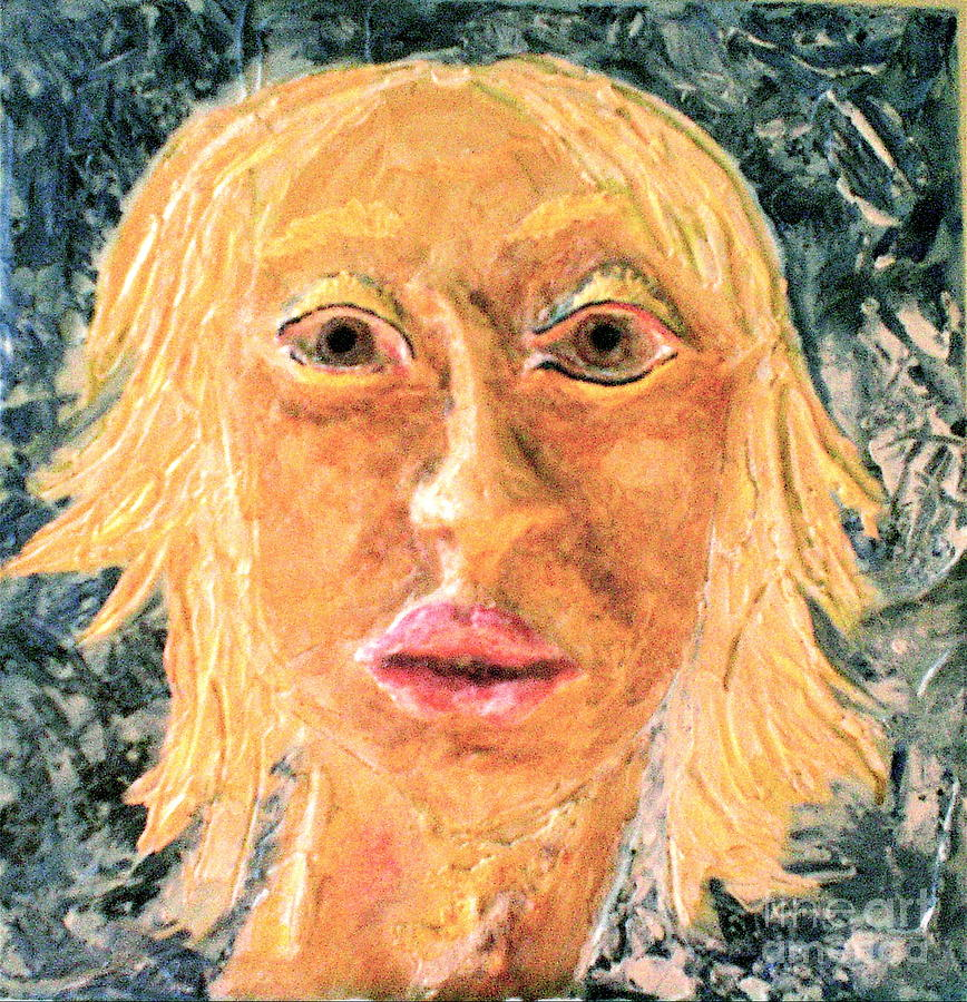 Portraits Painting - Inanna by Kime Einhorn