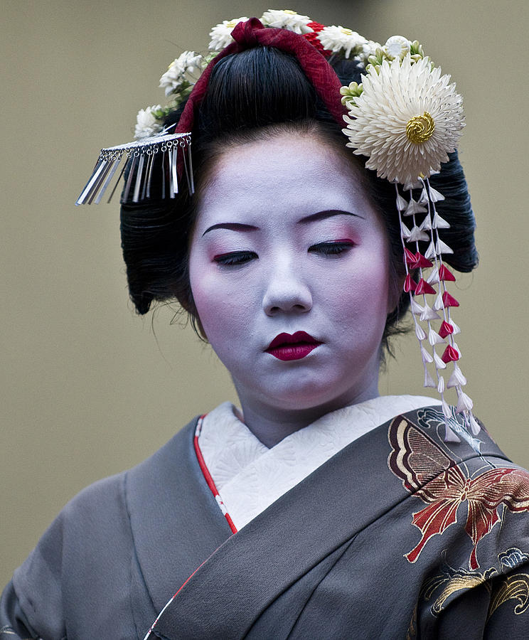 Japan Photograph - Jidai Matsuri  Festival  by Kobby Dagan