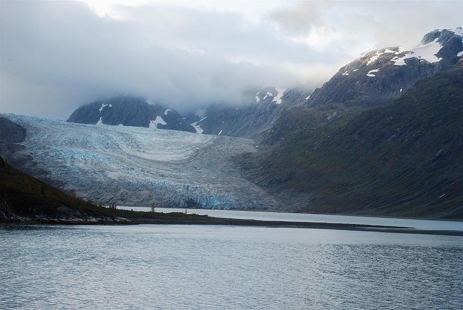 John Hopkins Photograph - John Hopkins Glacier by Michael Peychich