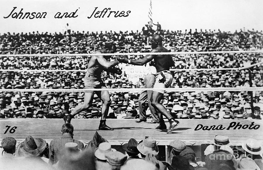 Johnson Vs. Jeffries, 1910 Photograph