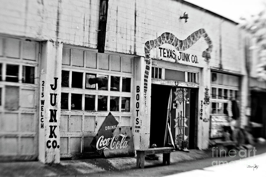 Texas Junk Photograph - Junk Company by Scott Pellegrin