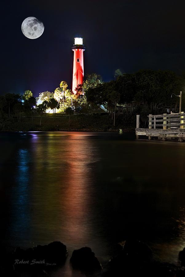 Lighthouse Photograph - Jupiter Lighthouse by Robert Smith