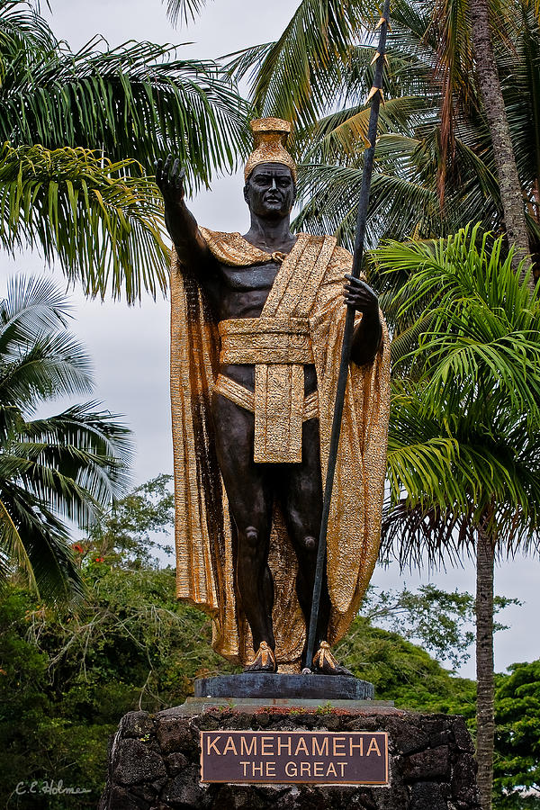 Kamehameha The Great Photograph - Kamehameha The Great by Christopher Holmes